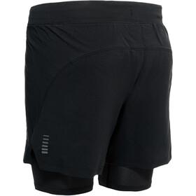 Under Armour Isochill Run 2-i-1 shorts Herrer, sort